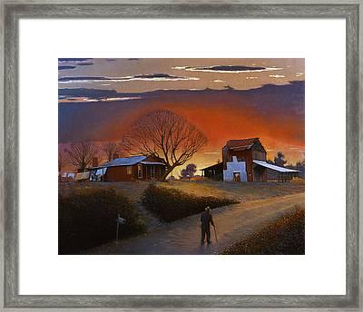 Endurance Framed Print by Doug Strickland