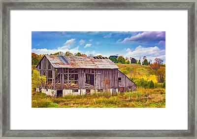 Endurance - Paint 2 Framed Print by Steve Harrington