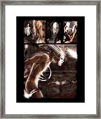 Endzeit Framed Print by Mandem