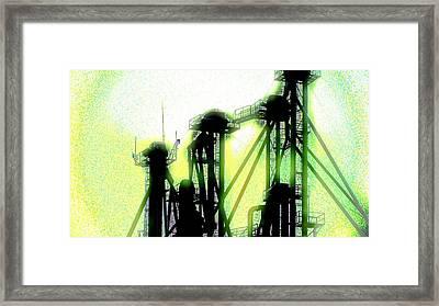 Energize Field Framed Print by Cyryn Fyrcyd