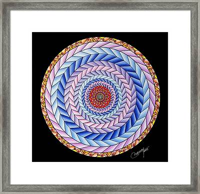 Energy In Movement Framed Print by Marcia Lupo