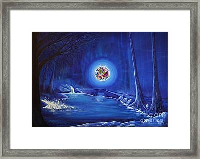 Energy Framed Print by Mario Lorenz