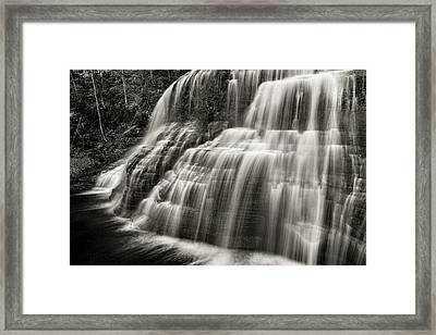 Lower Falls #3 Framed Print by Stephen Stookey