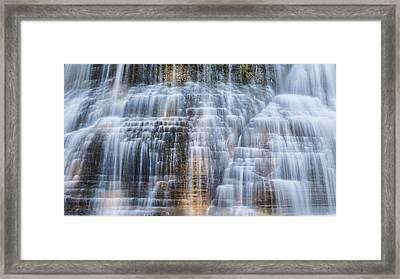 Lower Falls Cascade #1 Framed Print by Stephen Stookey