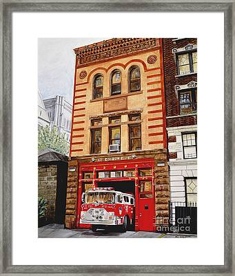 Engine Company 47 Framed Print by Paul Walsh