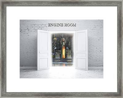 Engine Room Framed Print by Melissa Messick