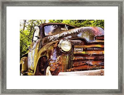 Engine Room Framed Print by Tom Griffithe