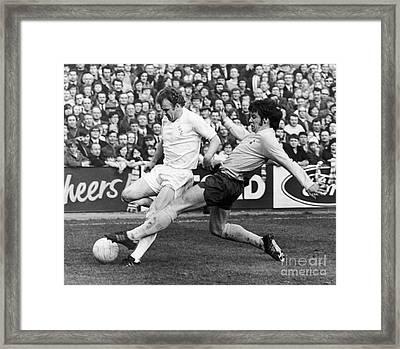 England: Soccer Match, 1972 Framed Print by Granger