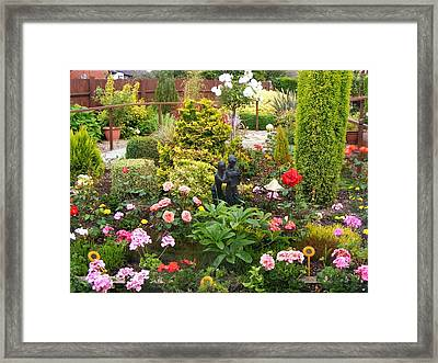 English Country Garden Framed Print by Jacqueline Essex