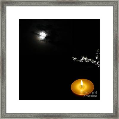 Enigmatic Perspective Framed Print by Celestial Images