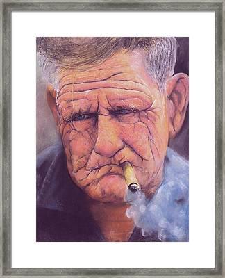 Enjoying Life Framed Print by Curtis James