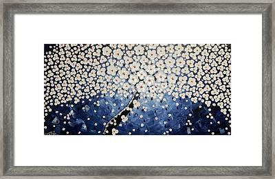 Enlighten The Light Framed Print by Ilonka Walter