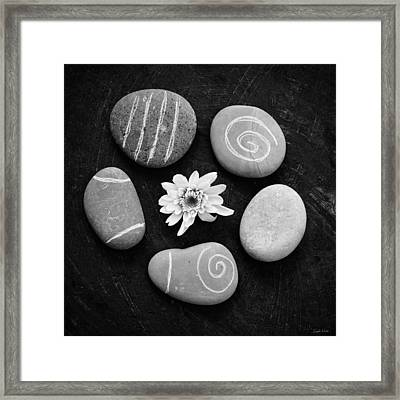 Enlightened - Art By Linda Woods Framed Print by Linda Woods