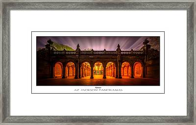 Enlightenment Poster Print Framed Print by Az Jackson