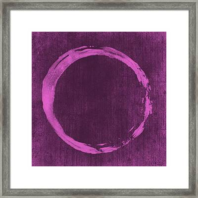 Enso 4 Framed Print by Julie Niemela