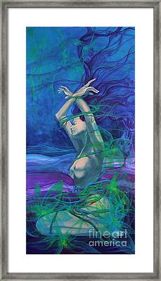 Entangled In Your Love... Framed Print by Dorina  Costras