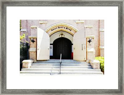 Enter, Rest And Pray Framed Print by Terry Davis