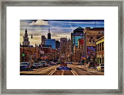 Entertainment Framed Print by Chuck Alaimo