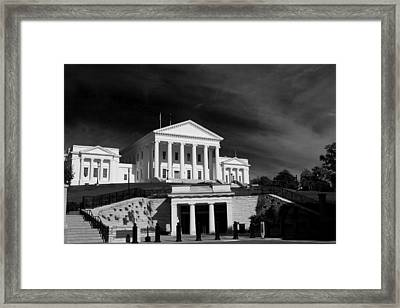 Entrance Below Framed Print by Tim Wilson