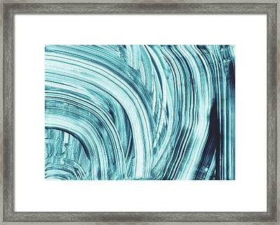 Entranced 1- Abstract Art By Linda Woods Framed Print by Linda Woods