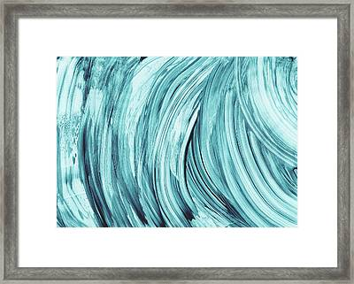 Entranced 2- Abstract Art By Linda Woods Framed Print by Linda Woods