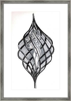 Entrapped Soul Framed Print by Scarlett Royal