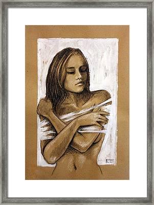 Entrapped Framed Print by Stanislao