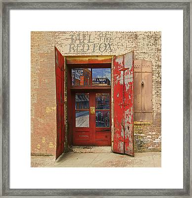 Entry Into The Past Framed Print by Jeff Burgess