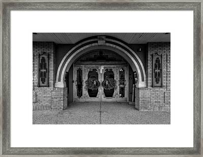 Entryway To The Chief Theater Framed Print by Mountain Dreams