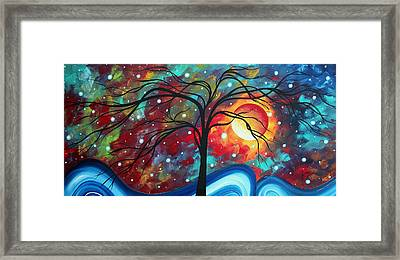Envision The Beauty By Madart Framed Print by Megan Duncanson