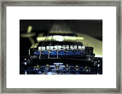 Epiphone Les Paul Guitar Framed Print by Martin Newman