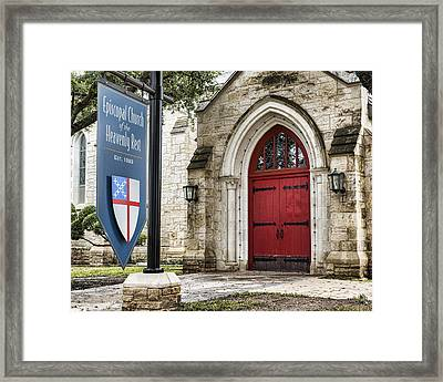 Episcopal Church Of The Heavenly Rest Framed Print by Stephen Stookey