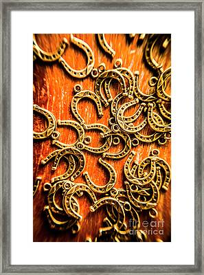 Equestrian Luck Framed Print by Jorgo Photography - Wall Art Gallery