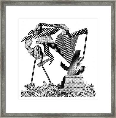 Equilibrium #1 Framed Print by Jim Ford