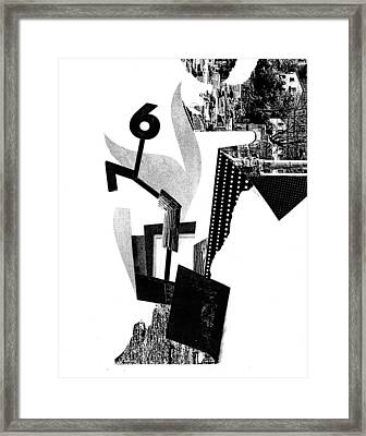 Equilibrium #12 Framed Print by Jim Ford