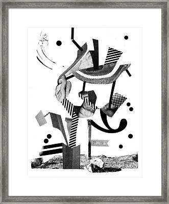 Equilibrium #4 Framed Print by Jim Ford