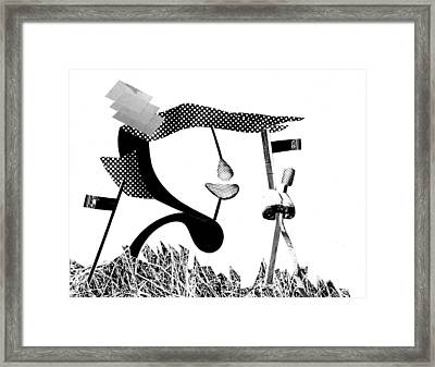 Equilibrium #5 Framed Print by Jim Ford