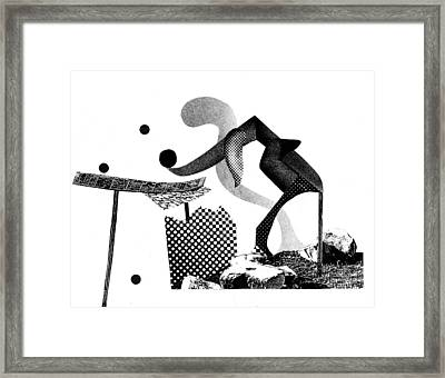 Equilibrium #6 Framed Print by Jim Ford