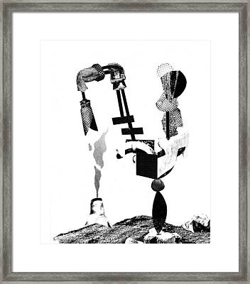 Equilibrium #9 Framed Print by Jim Ford