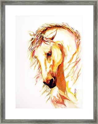 Equus Framed Print by Jose Espinoza