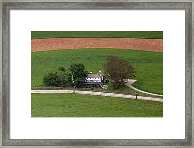 Erdenheim Farm 2 Framed Print by Duncan Pearson