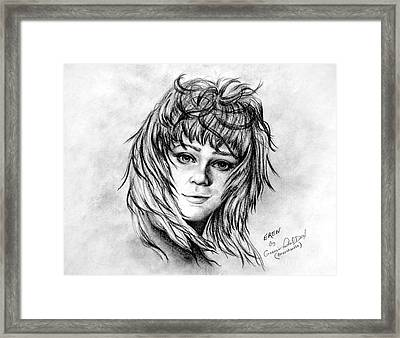 Eren Framed Print by Georgia Doyle  brushhandle