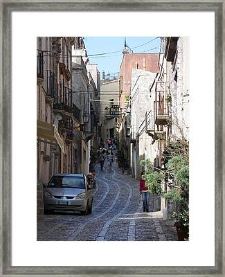 Erice Framed Print by Beverly Kay