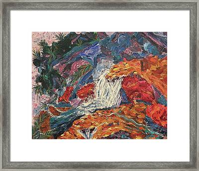 Erotic Water Framed Print by Suzanne  Marie Leclair