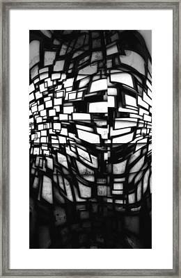 Error In The System Framed Print by Stefan Kuhn