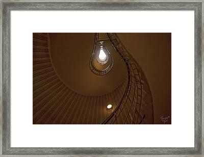es wurde Licht Framed Print by Renata Vogl