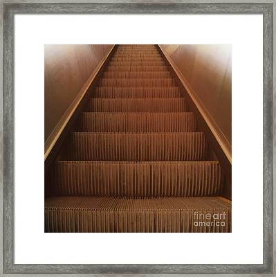 Escalier 2 Framed Print by Reb Frost