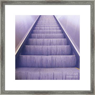 Escalier 3 Framed Print by Reb Frost