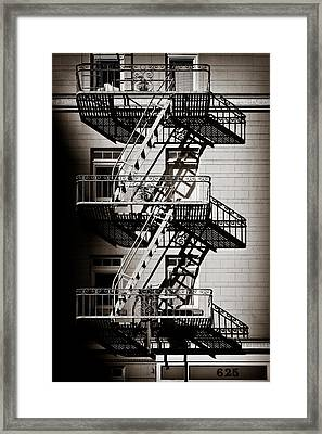 Escape Framed Print by Dave Bowman