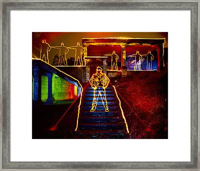 Escape Ft Chronkite Framed Print by Garry Gay